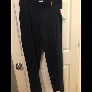 Liz Claiborne NWT women's slacks size 14 black
